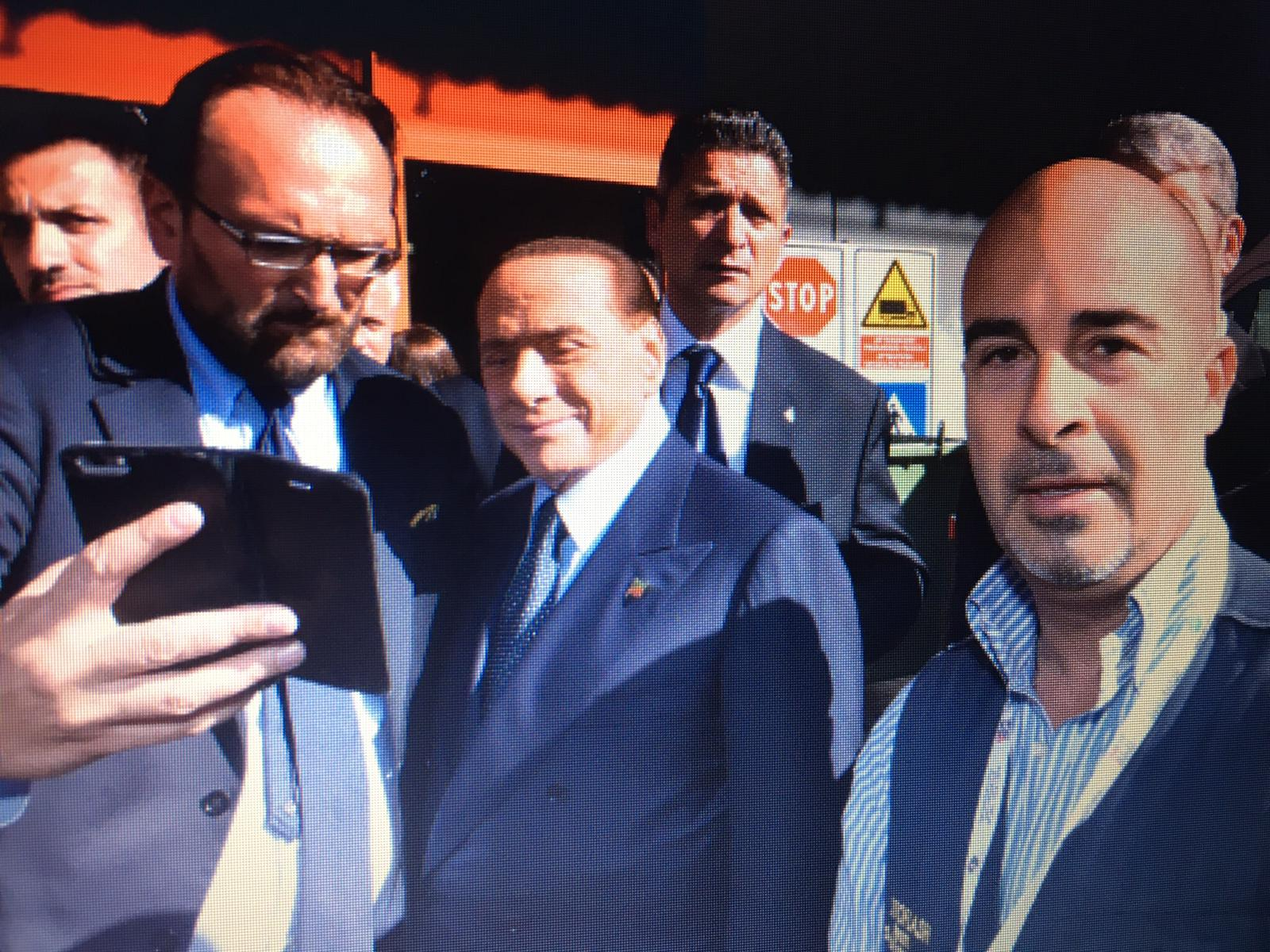 Silvio Berlusconi Fabio Riccioli Fotoreporter TuttoFood Milano Fotoflashteam fotografo Roma