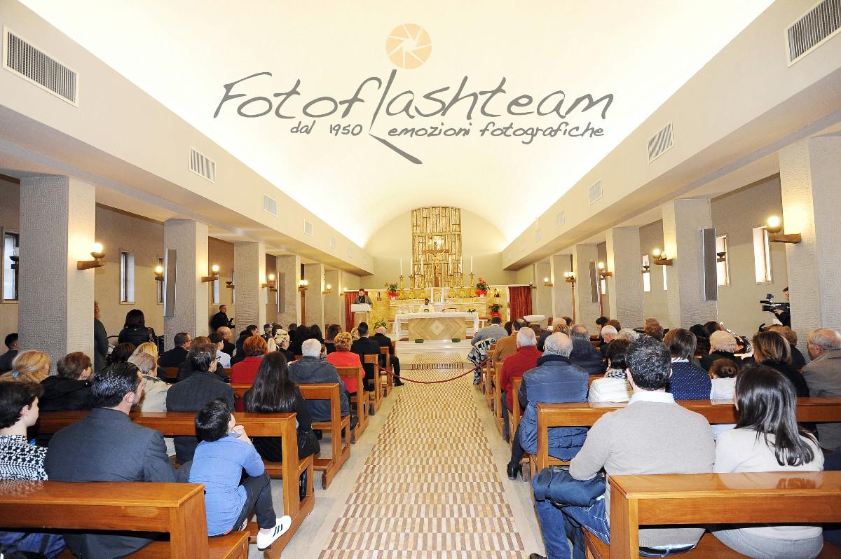 Cerimonia chiesa servizio foto Battesimo