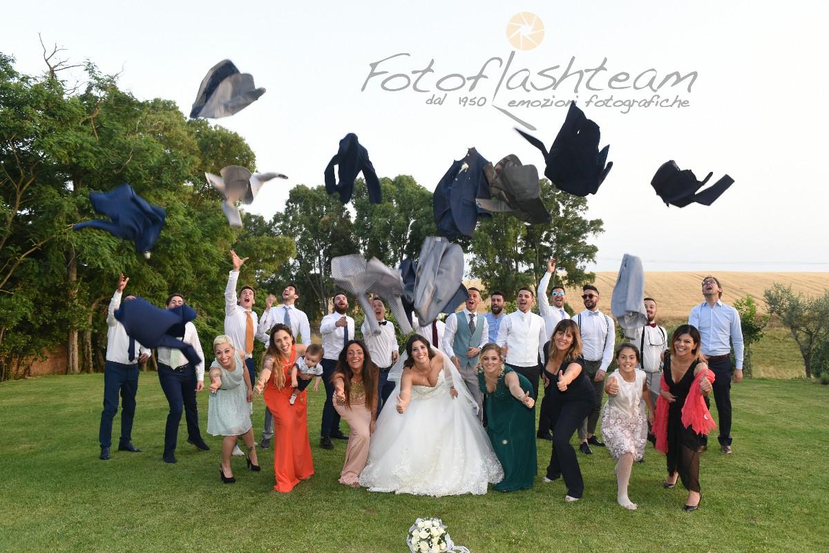 Festa sposi ricevimento all'aperto