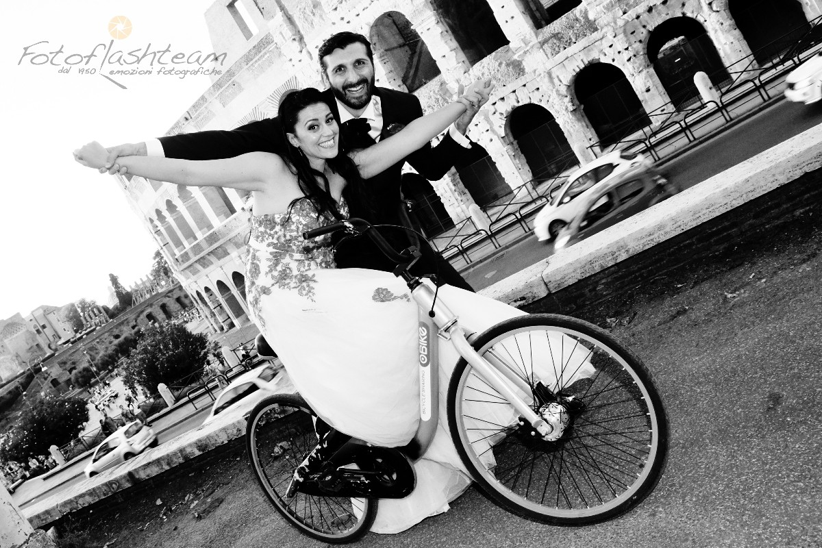 Foto Sposi Colosseo Roma
