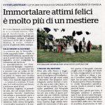 Fotoflashteam Fabio Riccioli articolo giornale La Repubblica