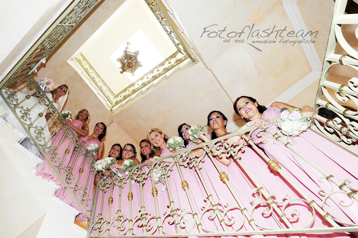 Ricevimento damigelle Foto Matrimonio Roma Centro Nord Est Fotoflashteam Fabio Riccioli