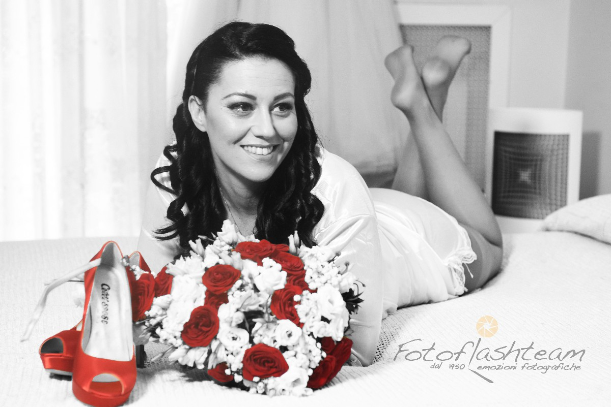 Sposa foto bianco e nero Fotografo Matrimonio Roma Fotoflashteam Fabio Riccioli