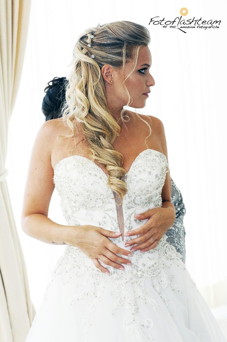 Sposa posa casa Servizio Foto Matrimonio Roma Fotoflashteam Fabio Riccioli
