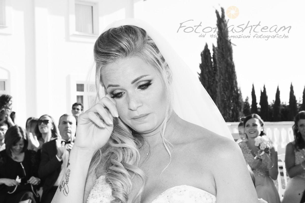Sposa primo piano acconciatura matrimonio fotografo roma Fotoflashteam