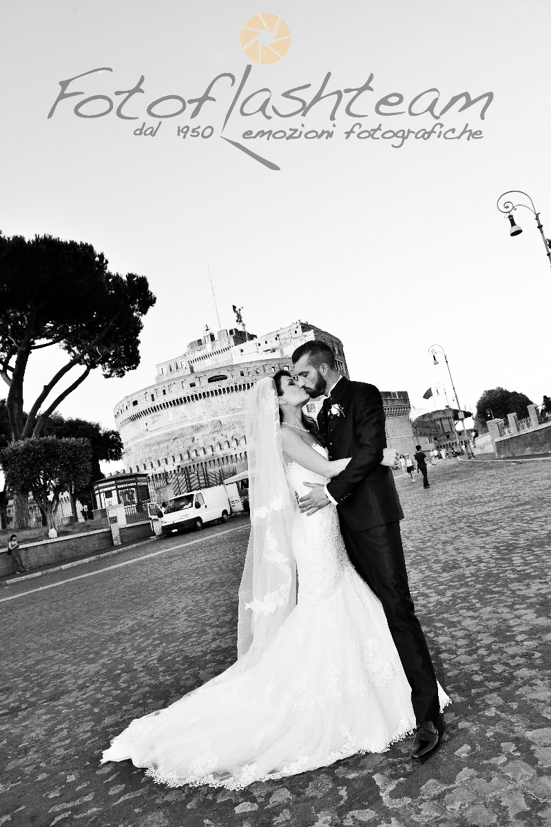 Sposi Castel Sant'Angelo foto location matrimoni preferite Roma
