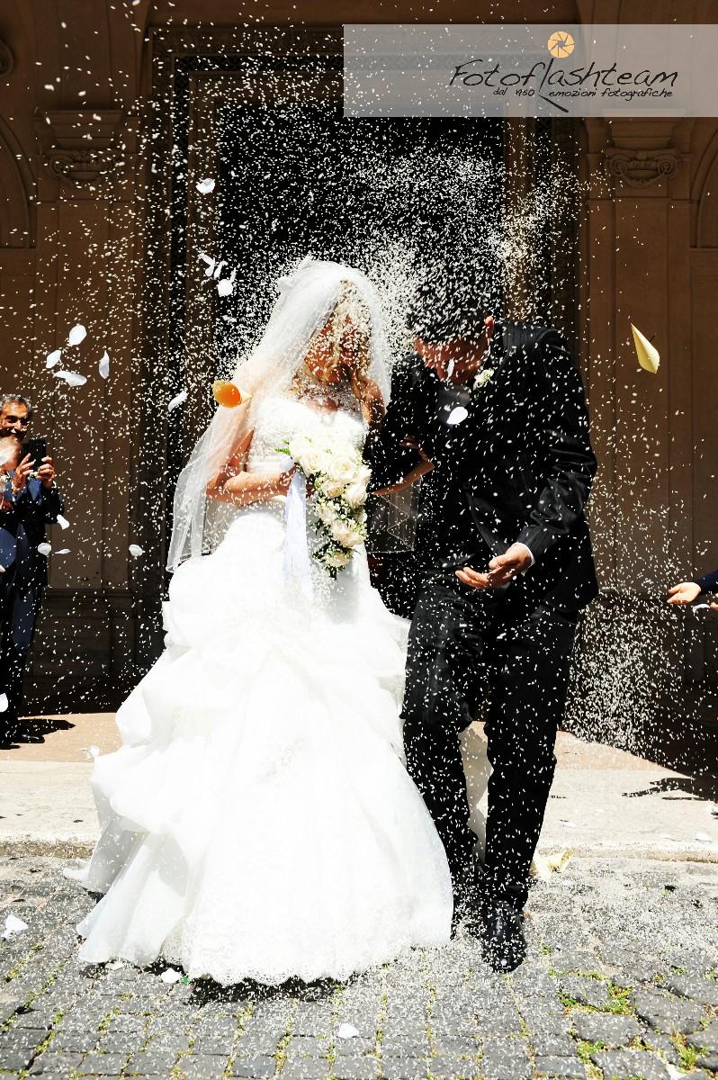 Sposi Chiesa Servizio Fotografico Matrimonio Roma Fotoflashteam Fabio Riccioli