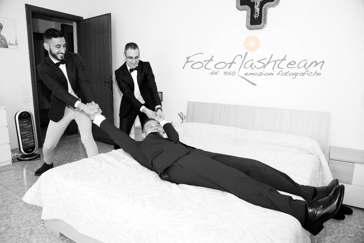 Sposo Fotografie Matrimonio Roma Studio Fotografico Foto flash team