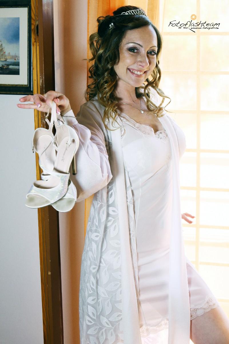 preparativi foto sposa