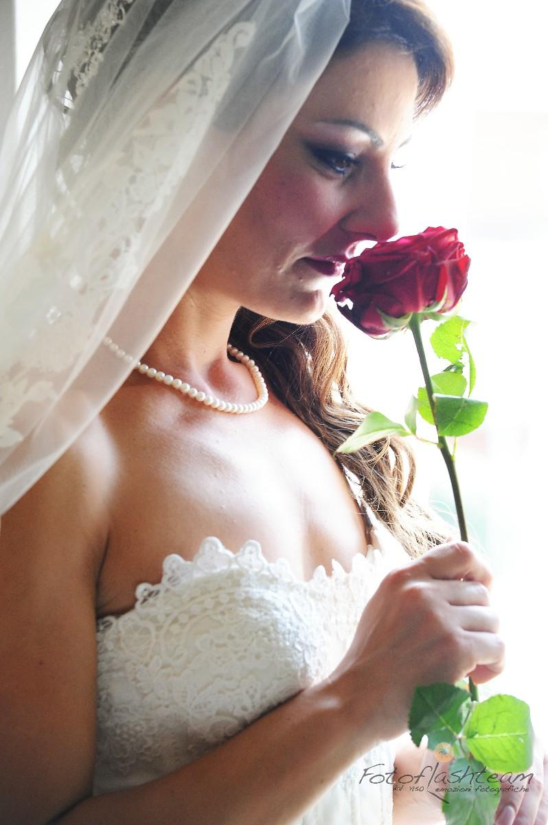 sposa fiori matrimonio