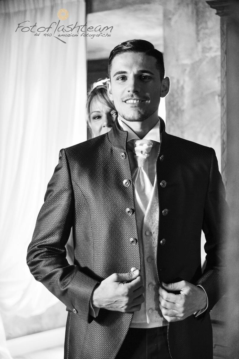 sposo servizio fotografico nozze a Roma Fabio Riccioli