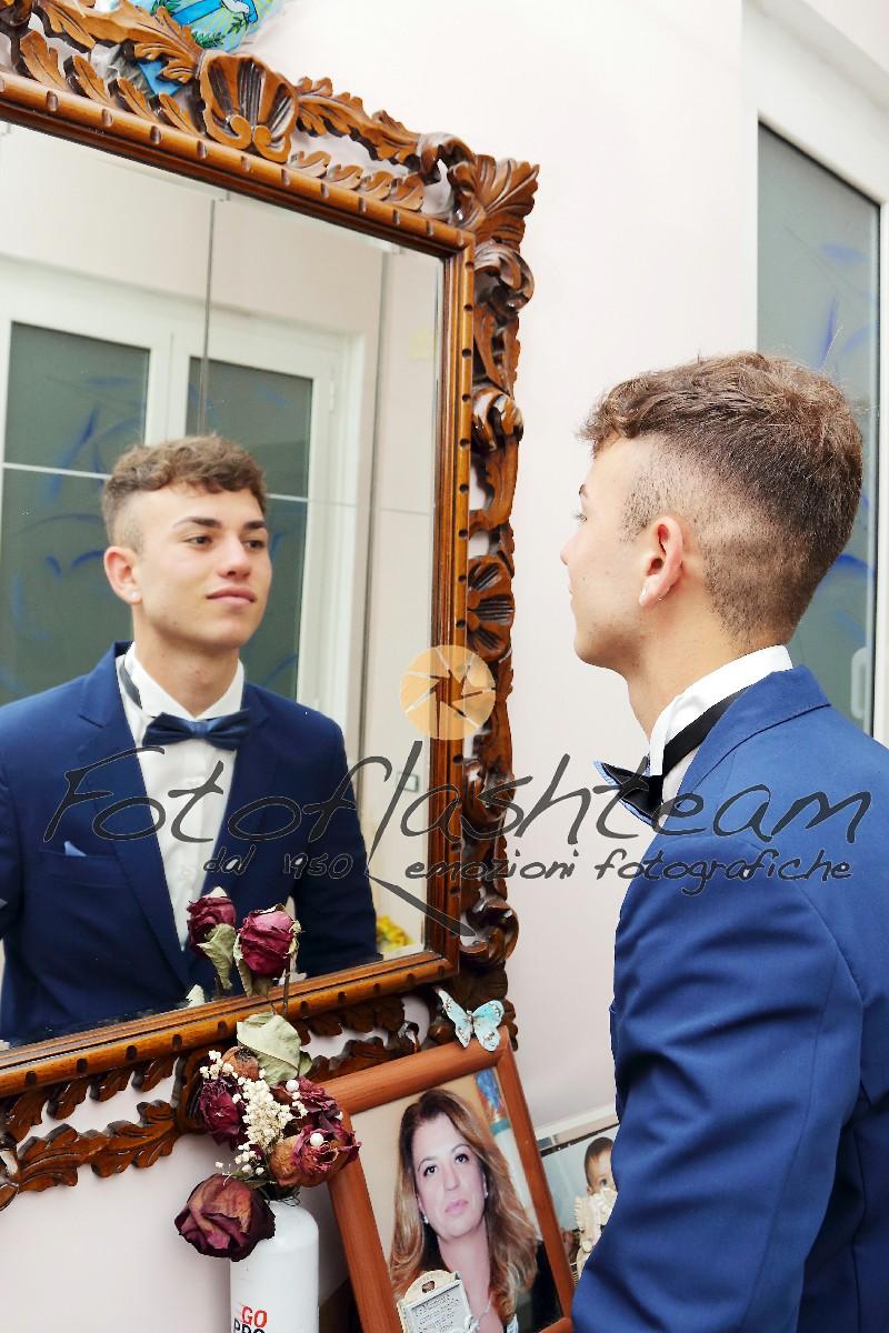Preparativi vestito 18 anni Fotografo professionista diciottesimo Roma