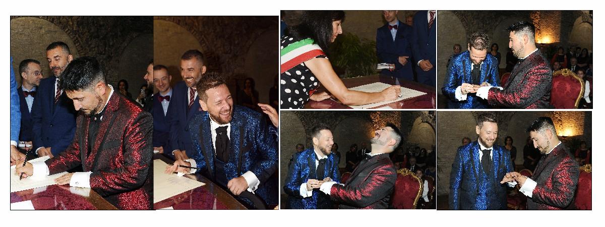 Cerimonia unione civile Fotografo matrimonio gay Roma Fotoflashteam
