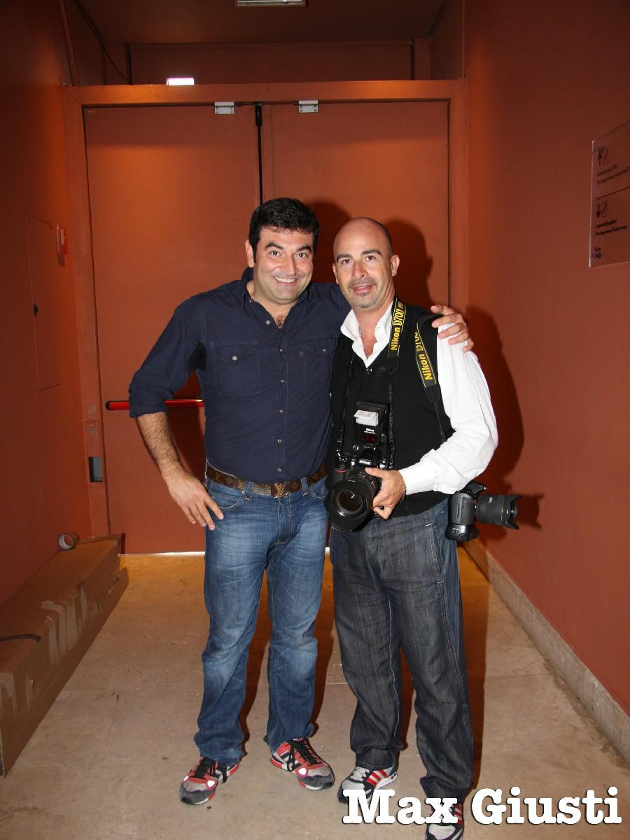 Max Giusti Fabio Riccioli Fotoreporter spettacoli teatrali Roma