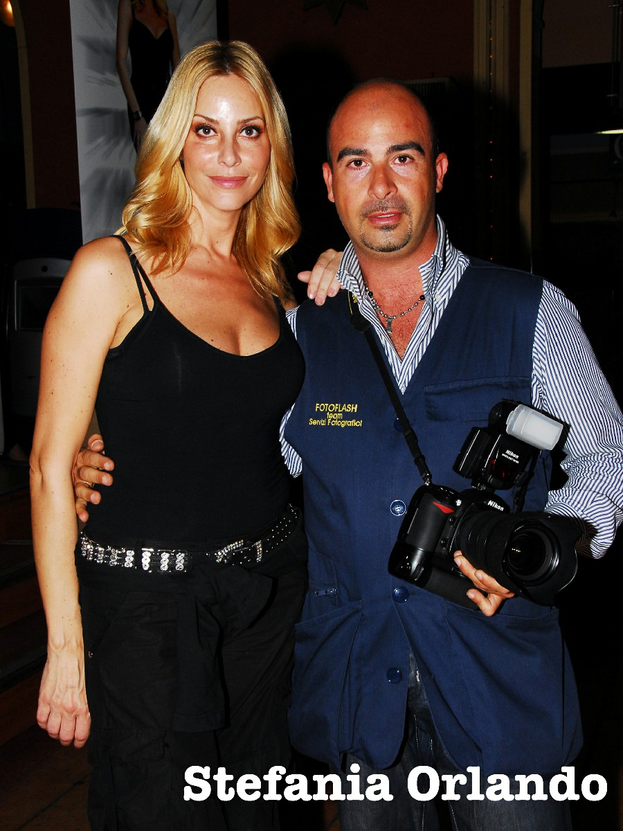Stefania Orlando Fabio Riccioli Fotografo Vip Roma