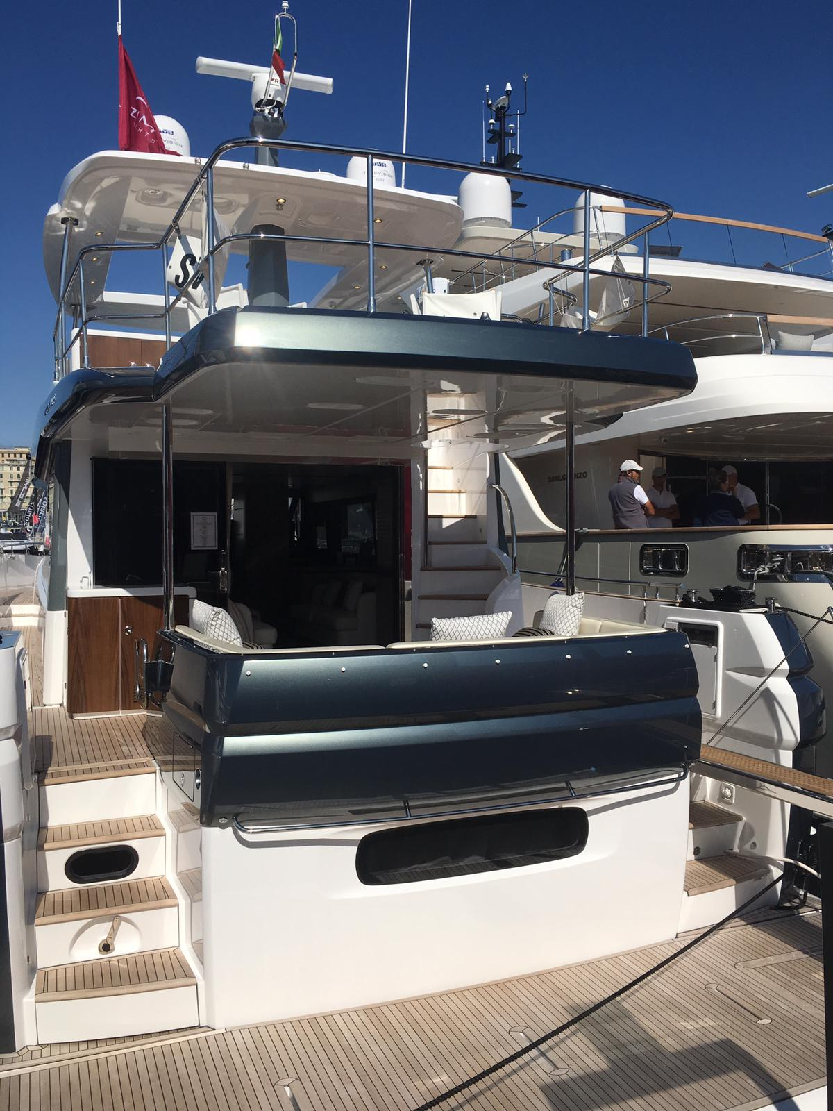 Yacht esposizione Salone nautico Genova 2019 Fotoflashteam fotografia