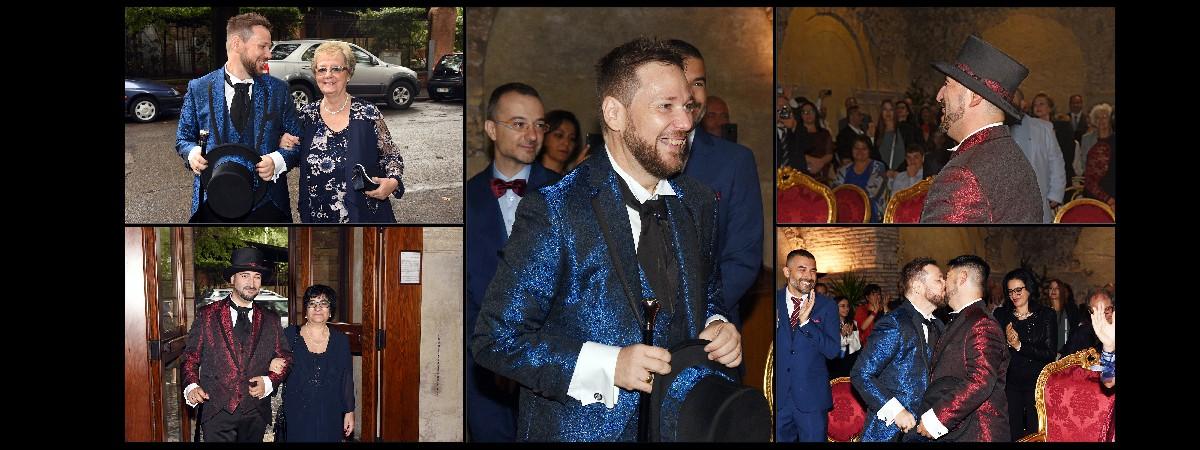 foto matrimonio gay Fotografo unione civile roma