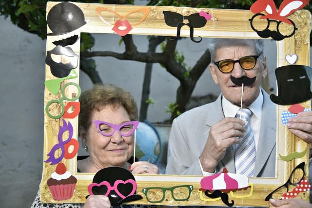 Invitati nozze foto cornice Photo Booth Matrimonio Roma realizzazione Fotoflashteam