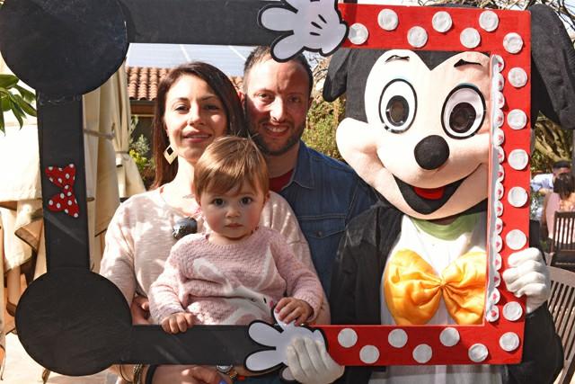 Nozze Foto Booth Matrimonio Roma realizzazione cornice topolino Fotoflashteam