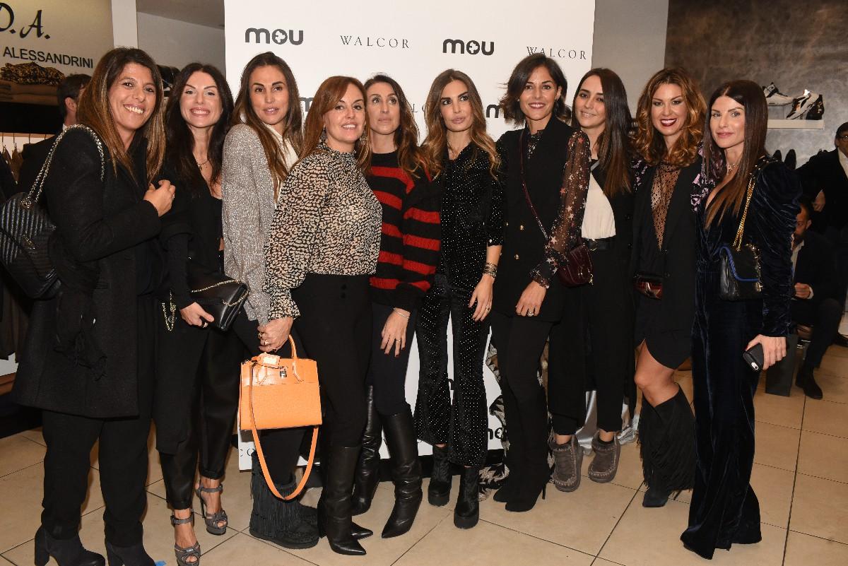 Foto ospiti Realizzazione servizio fotografico Evento Mou negozio Walcor Vip Roma