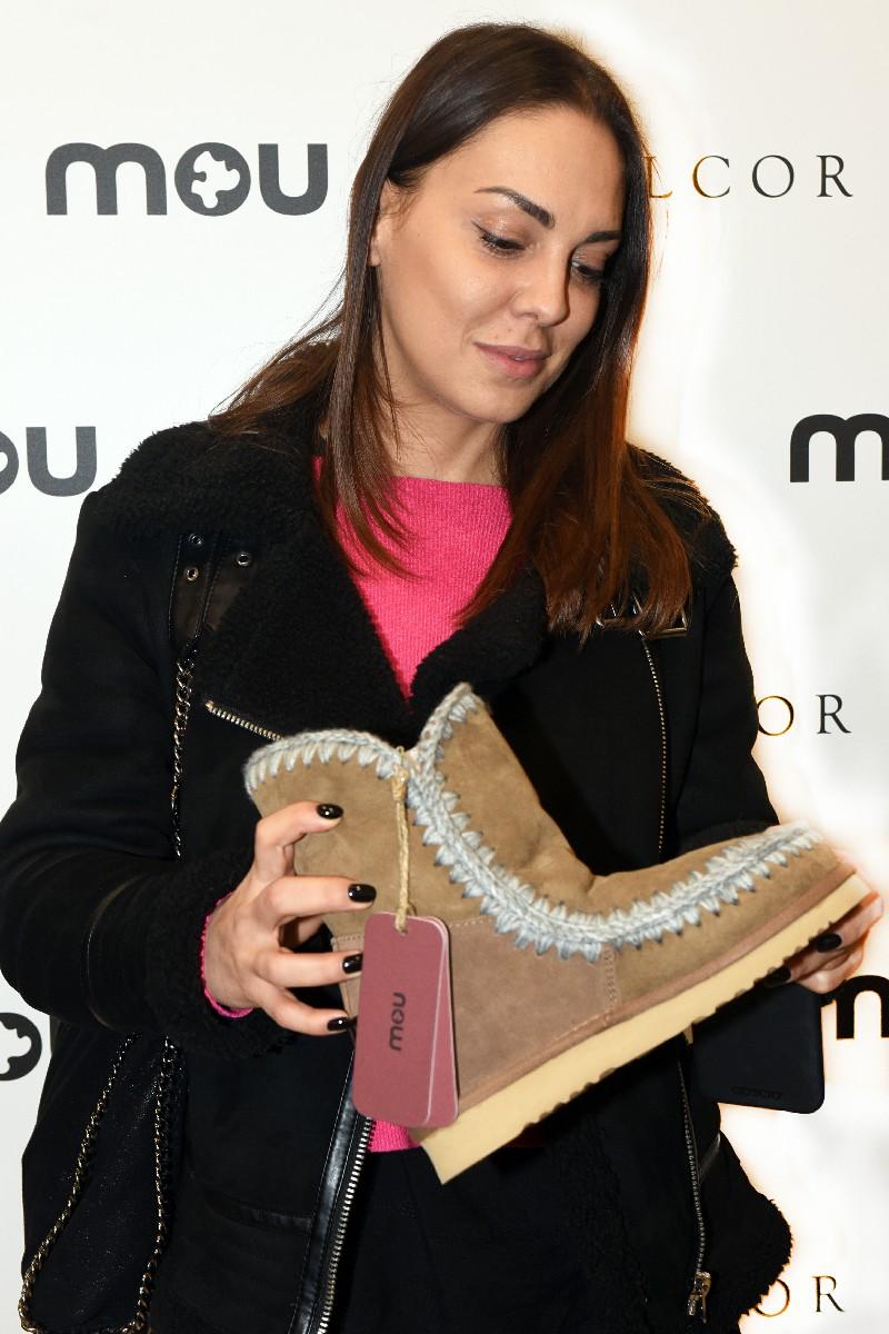 Foto vip Evento Mou al negozio Walcor servizio fotografico fashion Roma