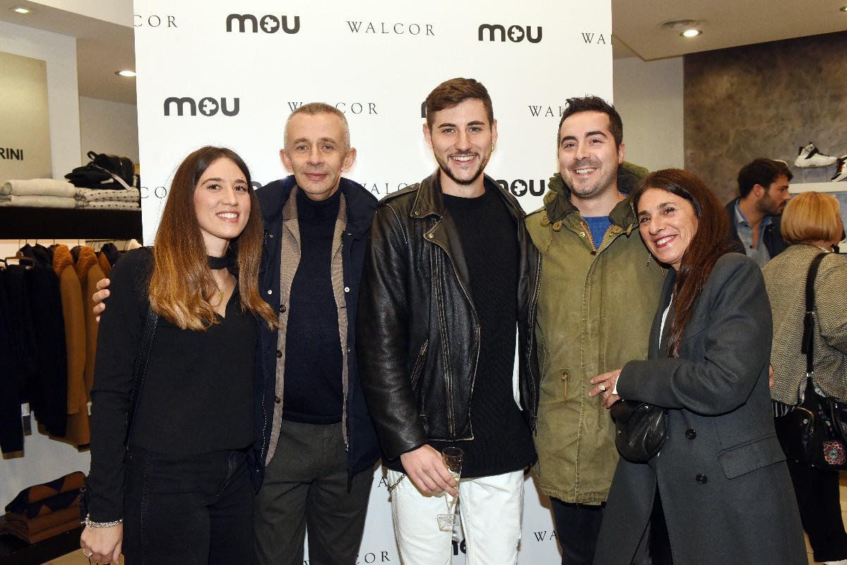 Ospiti Evento Mou negozio Walcor Roma fotografo eventi vip