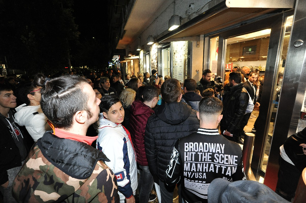 Reportage inaugurazione foto negozio Fotografo Roma Fotoflashteam