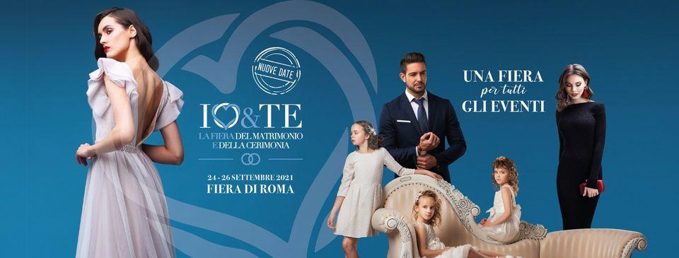 Io e Te Sposi fiera Matrimonio Cerimonia fiera di Roma 24 26 settembre 2021